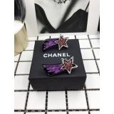Серьги Chanel разноцветная комета