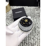 Брошка Chanel круг месяц - звезда