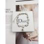Браслет Christian Dior белые звезды камни жемчужинки CD