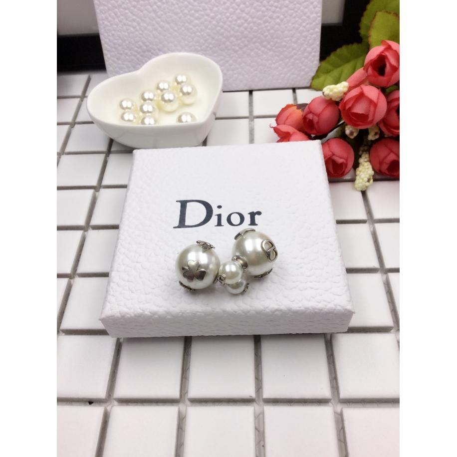 Серьги Christian Dior пусеты звезды - клевер - пчелка - cd