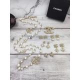 Золотая Брошка Chanel значок камни жемчужинки