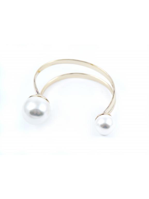 Золотой браслет Christian Dior жемчужинки