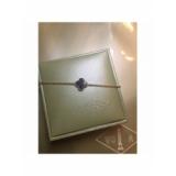 Черный Браслет Van Cleef & Arpels один цветочек в золоте